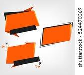 sale banner design. sale vector ... | Shutterstock .eps vector #524470369