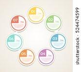 template for diagram  graph ...   Shutterstock .eps vector #524474599