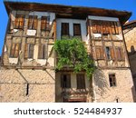 stone house located in a... | Shutterstock . vector #524484937