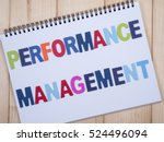 word spelling performance... | Shutterstock . vector #524496094