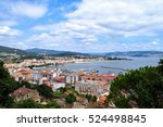 hilltop view of the town of... | Shutterstock . vector #524498845