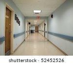 Long Hospital Hallway And...