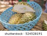 Durian Fruit Buffet In Garden