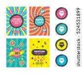 sale website banner templates.... | Shutterstock .eps vector #524531899
