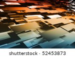 new medical science technology... | Shutterstock . vector #52453873