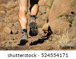 cross country running feet run...   Shutterstock . vector #524554171