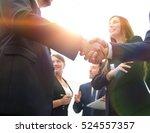 Business Handshake. Business...