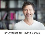 portrait of a mature man... | Shutterstock . vector #524561431