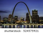 St. Louis At Night With...