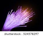 optical fibres technology...   Shutterstock . vector #524578297