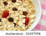 Healthy Oatmeal With Raisins...