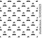 army soldier pattern. simple... | Shutterstock . vector #524592025