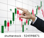 trading stock | Shutterstock . vector #524598871