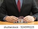 home insurance concept | Shutterstock . vector #524599225