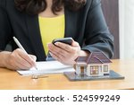 bank checking accounts from... | Shutterstock . vector #524599249