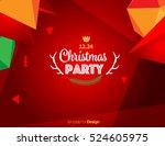 vector happy new year design  ... | Shutterstock .eps vector #524605975