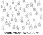 drown houses | Shutterstock . vector #524613079