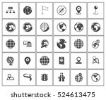map icons | Shutterstock .eps vector #524613475