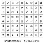 education icons | Shutterstock .eps vector #524613541