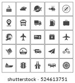transport icons | Shutterstock .eps vector #524613751