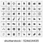 commerce icons   Shutterstock .eps vector #524614435