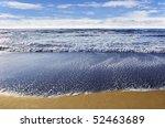 beach in san francisco in a... | Shutterstock . vector #52463689