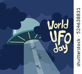 Poster For World Ufo Day With...