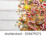 Colorful Lollipops  Candy Cane...