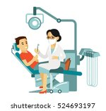 medicine dental concept  in...   Shutterstock .eps vector #524693197