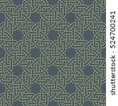 intricate islamic pattern ...   Shutterstock .eps vector #524700241