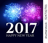 2017 new year background banner ... | Shutterstock .eps vector #524732701