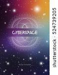 cyberspace and network... | Shutterstock .eps vector #524739205