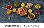 alternative cough and cold kit... | Shutterstock . vector #524748919