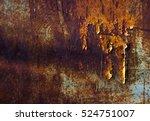 abstract rust background | Shutterstock . vector #524751007
