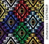 modern abstract geometric...   Shutterstock .eps vector #524754619