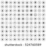 money icons | Shutterstock .eps vector #524760589