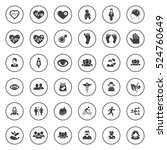 human icons | Shutterstock .eps vector #524760649