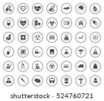 medical icons | Shutterstock .eps vector #524760721