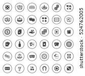 casino icons | Shutterstock .eps vector #524762005