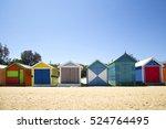 brighton australia october 28 ... | Shutterstock . vector #524764495
