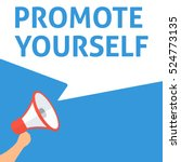 promote yourself announcement
