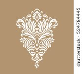 decorative element traditional... | Shutterstock .eps vector #524784445