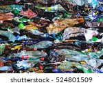 bottle pet plastic prepare to... | Shutterstock . vector #524801509