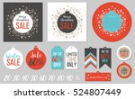 abstract printable colorful... | Shutterstock .eps vector #524807449