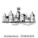 castle landscape   Shutterstock . vector #524816524