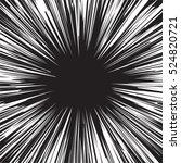 comic book black and white... | Shutterstock . vector #524820721
