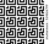 vector seamless pattern.... | Shutterstock .eps vector #524826799