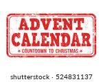 Advent Calendar Grunge Rubber...