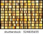 gold gradient background vector ... | Shutterstock .eps vector #524835655