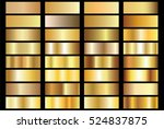 gold background texture vector... | Shutterstock .eps vector #524837875